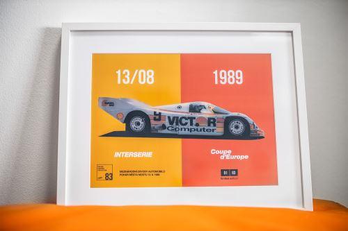 Plakát kolekce RACING LEGENDS COLLECTION - INTERSERIE, bez rámu