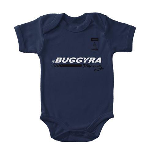 BODY BABY PRUH A NÁPIS BUGGYRA MODRÉ
