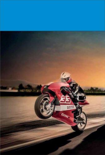 Volná jízda, motocykl